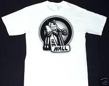 THE WALL Goalie Hockey White T-Shirt Men's LARGE L