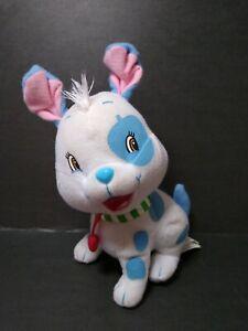 """Strawberry Shortcake Pupcake Plush Dog  7"""" Kellytoy Stuffed Animal 2009"""