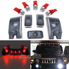 5x Smoke Cab Marker Roof Top Light 194 5050 LED Bulb for 03-09 Hummer H2 SUV SUT