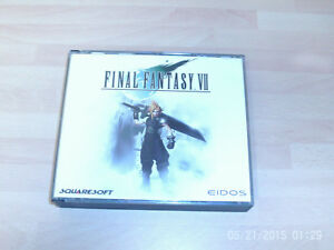 final fantasy vii  USED .....& ..... Septerra Core & restricted area  NEW&SEALED