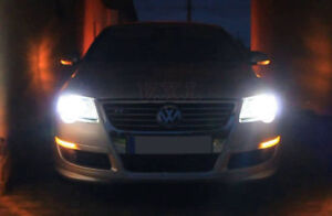 VW Passat B7 2010-2014 2x Bulbs H7 Cree LED Headlight Low Beam 90W 6000K White