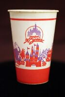 "Disneyland 1985 Wax Paper Lily Cup 4.5"" 30th Anniversary Walt Disney Productions"