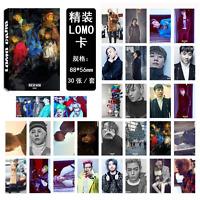 2017 NEW 30pcs / set Kpop BIGBANG Collective Photo PhotoCard Poster Lomo Card