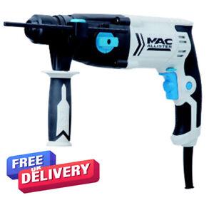 Mac Allister MSRH600 600w 240V Corded SDS + Drill Bits And Case