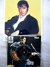 "45.  ELVIS PRESLEY     VIVA LAS VEGAS     INDIA !!       7""   + publicity photo"