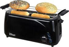Toaster mit Brötchenaufsatz 4 Scheiben Langschlitz XXL Toastautomat Toster?00
