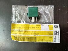 BMW relay change-over contact GREEN  !!NEW!! GENUINE 61358350566