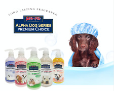 Alpha Dog Series - Grooming Quality All Natural Shampoo + Conditioner for Dogs