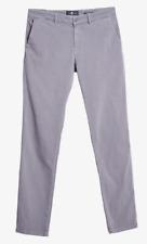 ❤️ 7 FOR ALL MANKIND Chino W 34 L 34 Grau Gray Designer Jeans