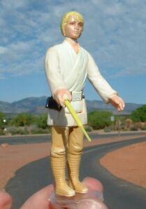 1977 Luke Skywalker w/UNPAINTED Lightsaber Vintage Star Wars PLAY WEAR