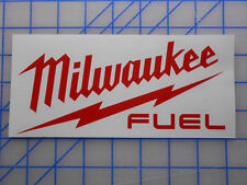 "Milwaukee Tools Fuel Decal Sticker 5"" Sawzall Drill Saw Impact M12 M18 Light"