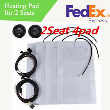 2 Sets Auto Car Front Seat Heating Pad Heater with Switch for Winter US Stock
