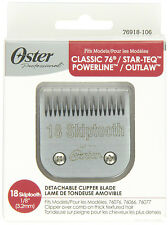 New Oster Blades for 76 size 18 Skiptooth Clipper Blade 76918-106