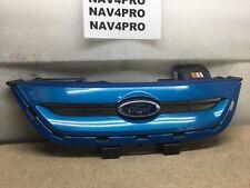 2011 2012 2013 Ford FIESTA HATCHBACK OEM Front UPPER Grille With Emblem Blue #8