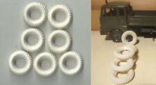 051b. MERCURY 1/48- 7 Gomme replica per/ Replica Tires/ Pneus replica Fiat 682