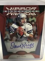 2020 Certified Dave Kreig Auto Mirror Signatures Red /99