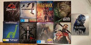 Choose Blu Ray Steelbook Star Wars Jurassic Park Hobbit Mad Max X-Men etc PAL