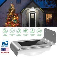 16 LED Solar Power Motion Sensor Garden Lamp Outdoor Waterproof Night Light