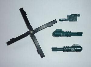 Transformers G1 - Combaticon Vortex - Full set of Parts