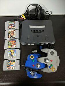 N64 Console Bundle Games Nintendo 64 Banjo Kazooie Bomberman 007 PAL