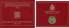 COFFRET 2 EUROS COMMEMORATIVE VATICAN 2004 BU