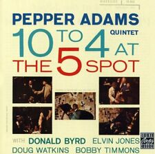 Pepper Adams : 10 to 4 at the 3-Spot Jazz 1 Disc CD