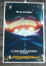 """Vintage 1977 Close Encounters Of The Third Kind Movie Original Poster 35"""" x 23"""""""