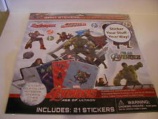 Marvel Avengers 21 Giant Stickers Decals