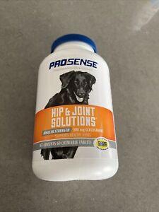 ProSense Hip & Joint Regular Strength for Dogs 60 Glucosamine Chew Tabs Exp 9/23