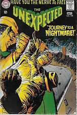 """DC (1968)THE UNEXPECTED#108 - Aug/Sept - """"Journey to a Nightmare!"""""""