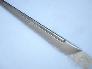 08-11 Buick Lucerne Passenger Side Front Door Trim Molding Switchblade Silver