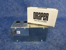 New Draper Kit C112.095 Low-Voltage Controller And Keypad / Projector Screen