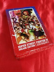 Street Fighter 4 Playing Game cards W / box Japan rare Arcade Edition Al star