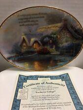 "Thomas Kinkade ""Lochaven Cottage� The Guiding Light Collection#28"