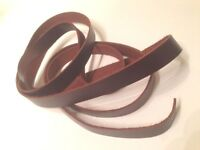 """Pull Up - Cognac Leather Strap 1/2"""" X 60"""""""