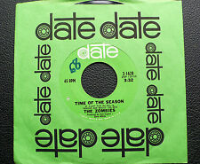 """7"""" The Zombies - Time Of The Season - US Date"""