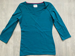 BODEN drake green Double Layer top size 6  NEW.  WO153  sample