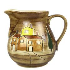 Large Jug Jug 2,5L Watering Can Milk Churn Wine Jug - Ceramic Tuscany Cottage