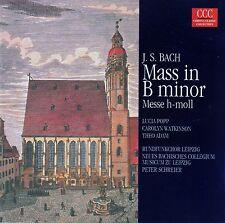 J.S. BACH: MASS IN B MINOR (SELECTIONS) - PETER SCHREIER / CD - NEUWERTIG
