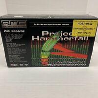 RME Hammerfall HDSP 9652 52-channel PCI Audio Interface Card
