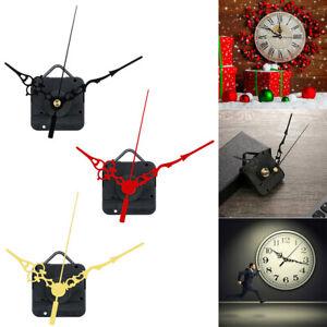 Quartz Clock Parts Mechanism Movement Long Spindle Hands Replacement Repair Kit