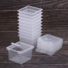10x Insect Reptile Spider Terrariums Breeding Box Hatching Container Cage