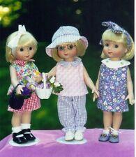 """dress Pattern fit 10"""" Doll Bleuette Patsy Ann Estelle Linda McCall Dianna Effner"""