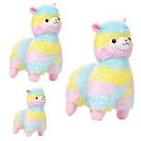 Cute Rainbow Alpacasso Kawaii Alpaca Llama Arpakasso Soft Plush Toy Doll Gift US