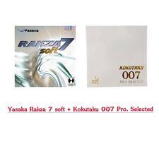 Yasaka Rakza 7 soft + Kokutaku 007 Pro. Selected (Free Shipping)