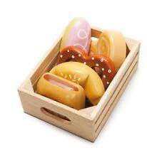 Le Toy Van Wooden Food in Market Crate - Baker's Basket