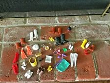 Lot Barbie and Ken Doll Collectible Vintage Shoes & Accessories 1970s & 1980s