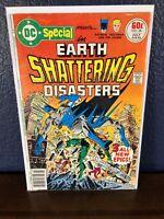 DC Special #28 EARTH SHATTERING DISASTERS Batman Aquaman 1977 Bronze-Age Comic