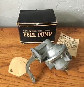 Hudson Terraplane Fuel Pump 1934 35 36 NOS 6/8 CYL Part Number GS213 Made In USA