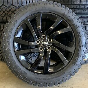 """Genuine Land Rover Discovery 4 & 5 511 20"""" Alloys & Good Year Duratrac Tyres x4"""